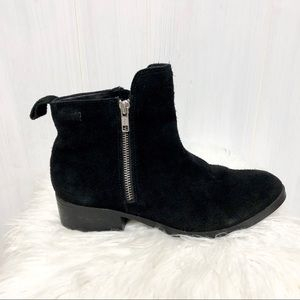 Cougar Connect Black Suede Waterproof Ankl…